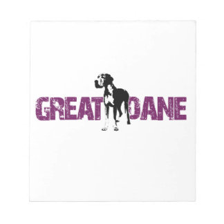 Great Dane Notepad