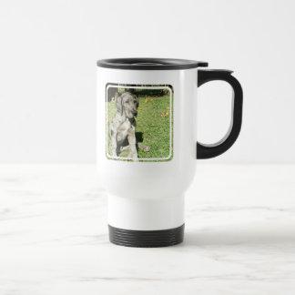 Great Dane Plastic Travel Mug