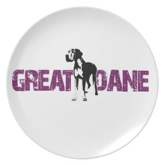 Great Dane Plate