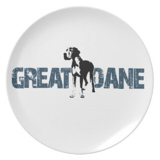 Great Dane Plate