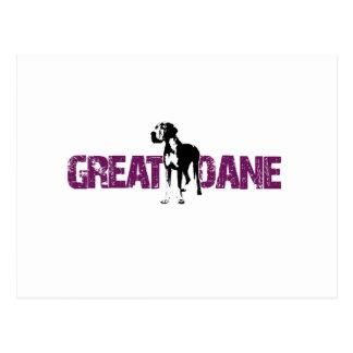 Great Dane Postcard