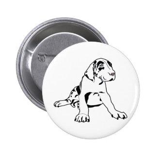 Great Dane Puppy Pins