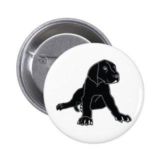 Great Dane Puppy Button