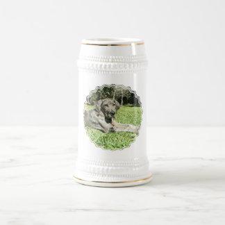 Great Dane Puppy Beer Stein Mugs
