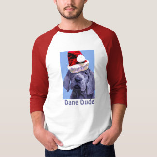 Great Dane Puppy Christmas Men's T-Shirt