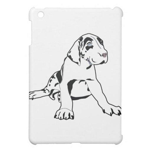 Great Dane Puppy iPad Mini Cover