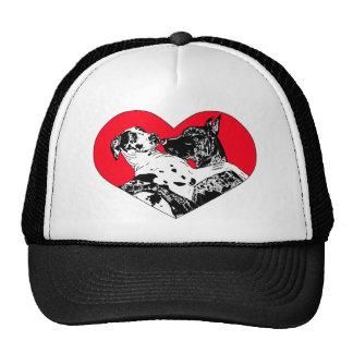 Great Dane Puppy Love Mesh Hat