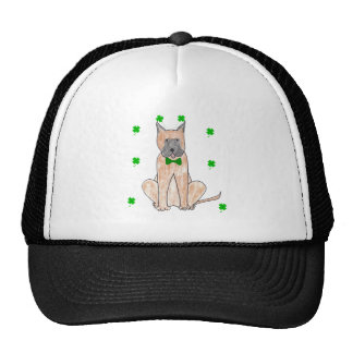 Great Dane Saint Patricks Day Mesh Hat