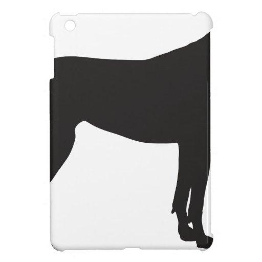 Great Dane Silhouette iPad Mini Cover