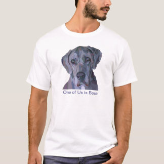 Great Dane Silver Merle Painting T-Shirt