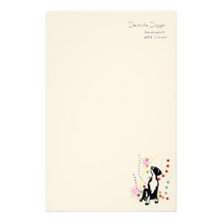Great dane stationery