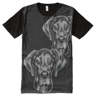 Great Dane T-Shirt with original artwork All-Over Print T-Shirt