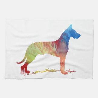 Great Dane Tea Towel