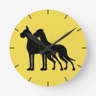 Great Dane Wallwatch Round Clock