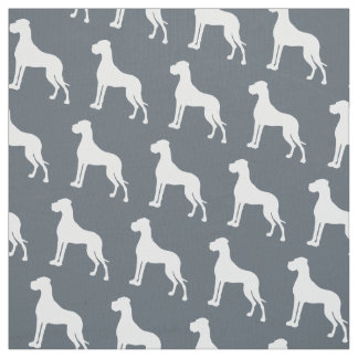 Great Danes all over Fabric