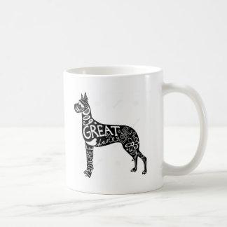 Great Danes are GREAT! Basic White Mug