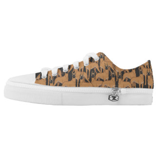 Great Danes Dogs Low Top Shoes Sneakers