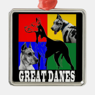 GREAT DANES PREMIUM CHRISTMAS ORNAMENT