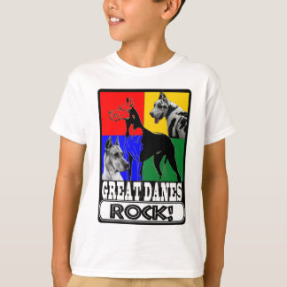 GREAT DANES ROCK! T-Shirt