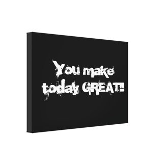 Great day canvas print