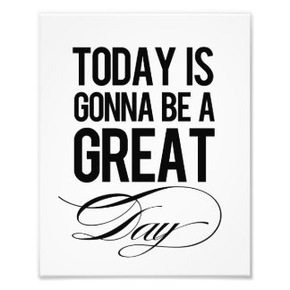 """Great Day"" Modern Wall Art Print"