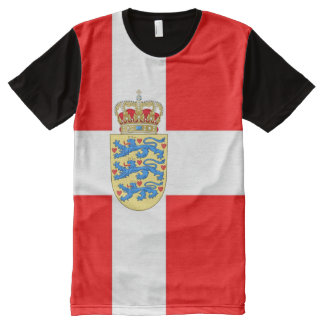 Great Denmark T-Shirt! All-Over Print T-Shirt