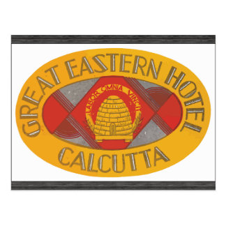 Great Eastern Hotel Calcutta, Vintage Postcard