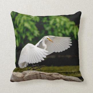 Great Egret Cushion