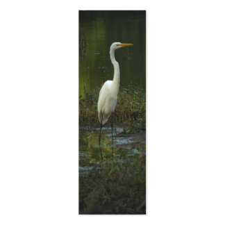 Great Egret Photo Bookmark Profile Card Business Card