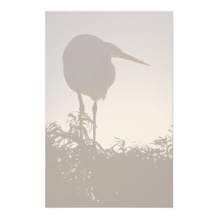 Great Egret Stationery