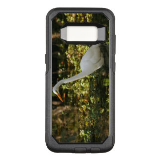 Great Egret Wading in Everglades OtterBox Commuter Samsung Galaxy S8 Case