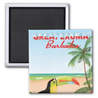 Great Euxma Barbados travel poster Magnet