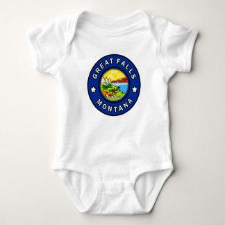 Great Falls Montana Baby Bodysuit