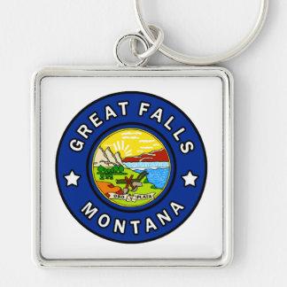 Great Falls Montana Key Ring