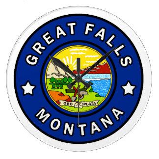 Great Falls Montana Large Clock