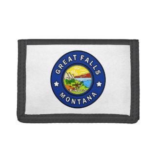 Great Falls Montana Tri-fold Wallet
