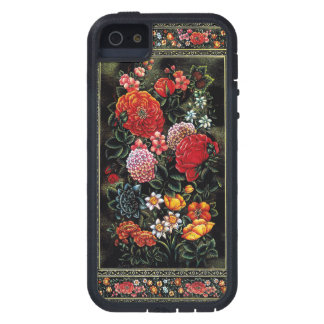 Great floral miniature of colorful of the Persian  Cover For iPhone 5