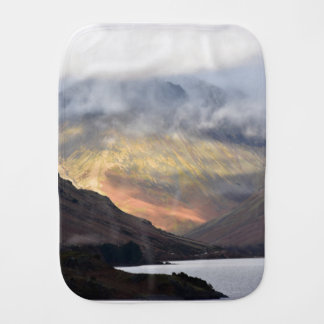 Great Gable from Wast Water Burp Cloth