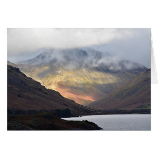 Great Gable from Wast Water Card