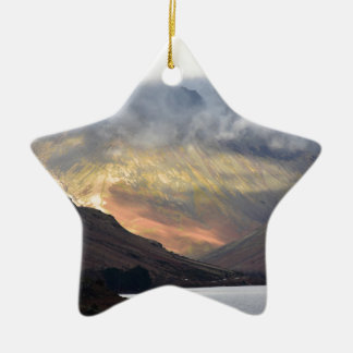 Great Gable from Wast Water Ceramic Ornament