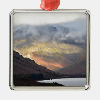 Great Gable from Wast Water Metal Ornament