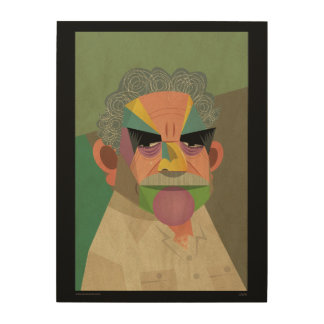 Great Gabriel García Márquez poster Wood Canvases