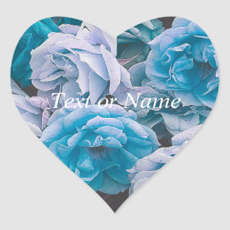 Great Garden roses,blue Stickers