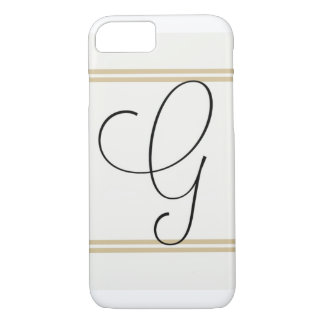 Great Gatsby! G Monogram iPhone 7 Case