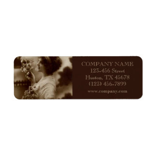 great gatsby girl makeup hair stylist photographer return address label