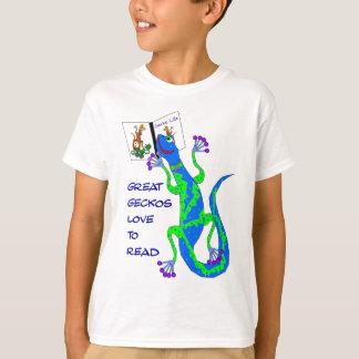 Great Geckos Read T-Shirt
