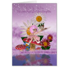 Great Granddaughter Birthday Card With Sugar Plum