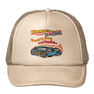 Great Grandfather Racing Father's Day Gifts Cap