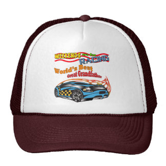 Great Grandfather Racing Father's Day Gifts Trucker Hat