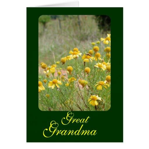 Great Grandma Greeting Cards
